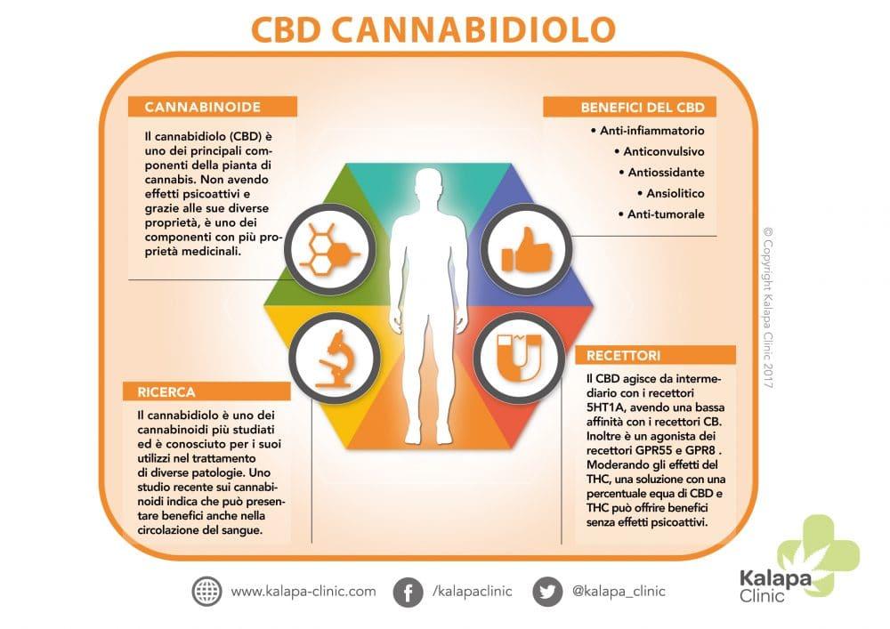 CBD Cannabidiolo | PROPRIETA' TERAPEUTICHE DEL CANNABIDIOLO | Kalapa Clinic